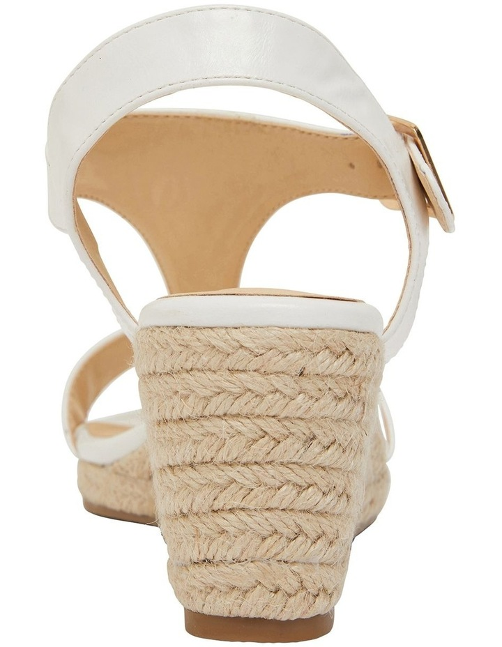 Anchor White Smooth Sandal image 5