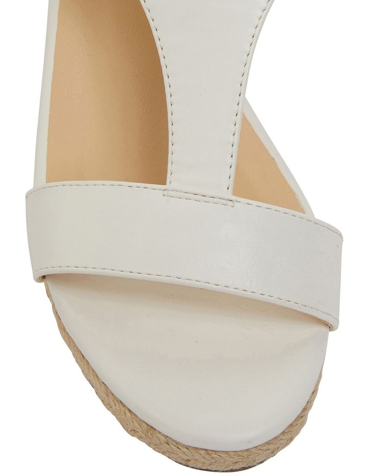 Anchor White Smooth Sandal image 7
