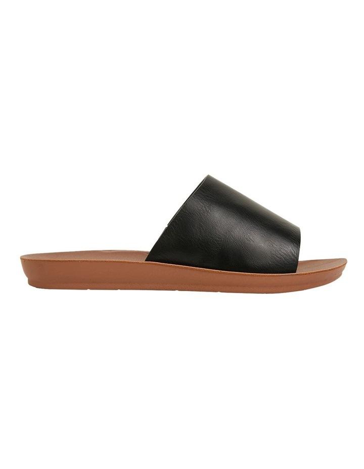 Glow Black Smooth Sandal image 1