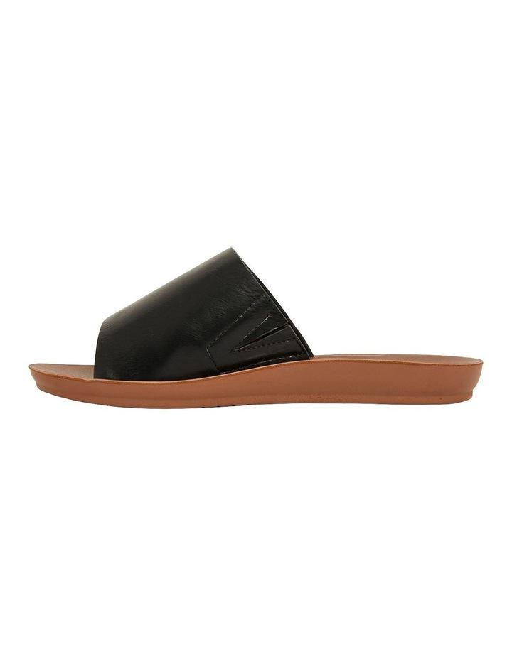 Glow Black Smooth Sandal image 3