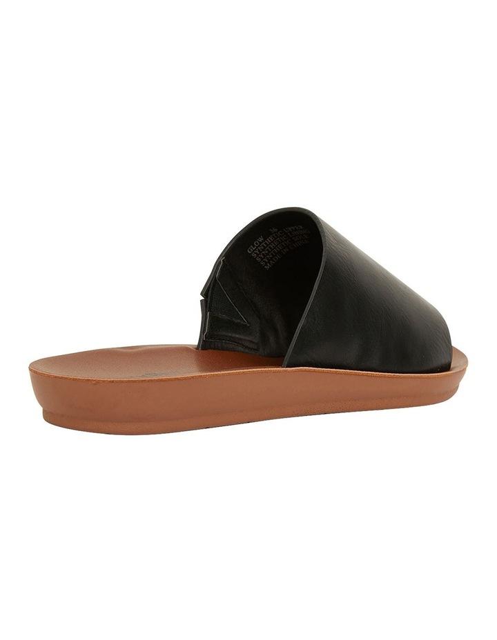Glow Black Smooth Sandal image 4