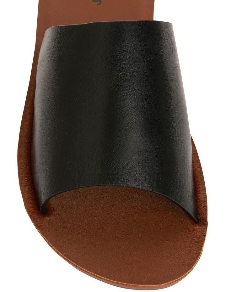 Glow Black Smooth Sandal image 6