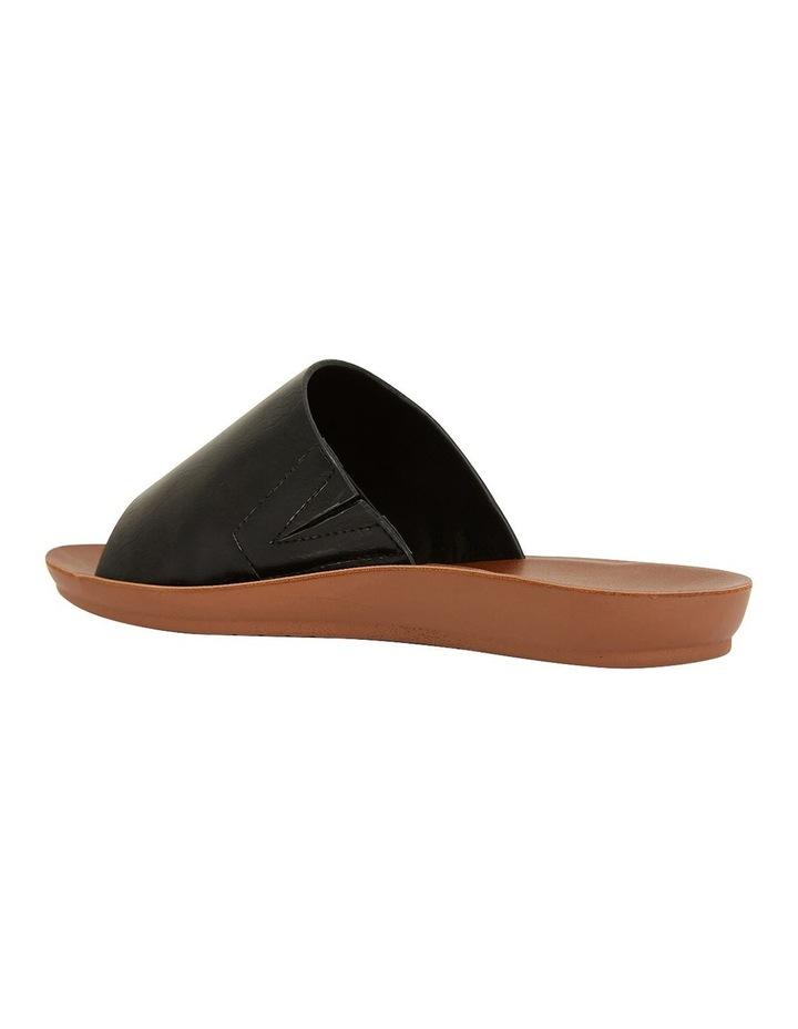 Glow Black Smooth Sandal image 7