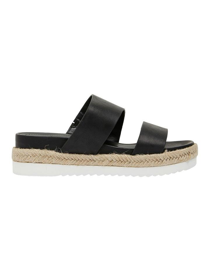 Wagon Black Smooth Sandal image 1