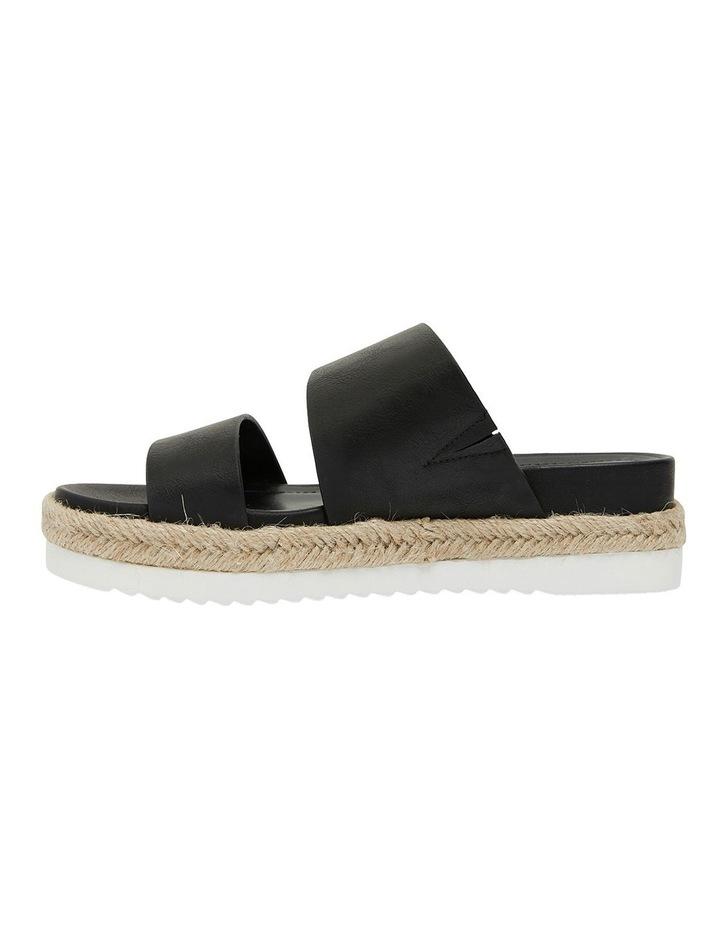 Wagon Black Smooth Sandal image 3