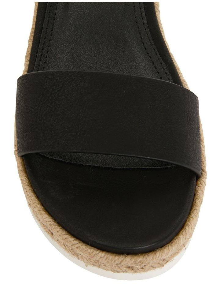 Wander Black Smooth Sandal image 6