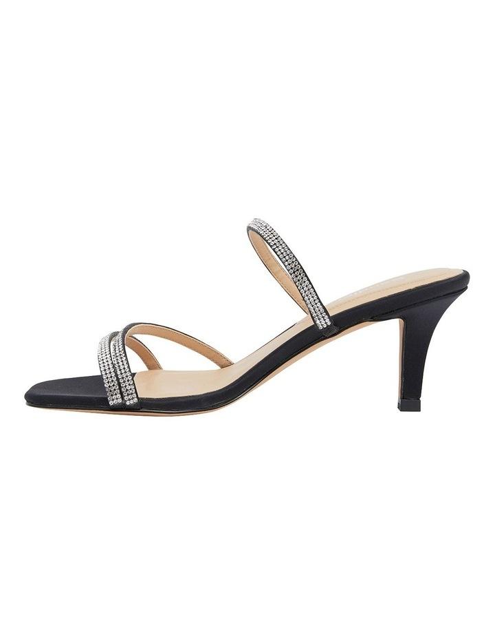 Marcy Black Fabric Sandal image 3