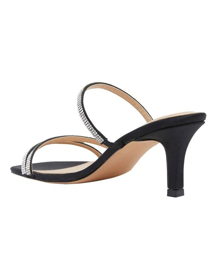 Marcy Black Fabric Sandal image 7