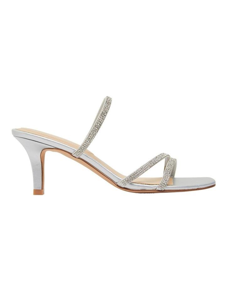 Marcy Silver Metallic Sandal image 1