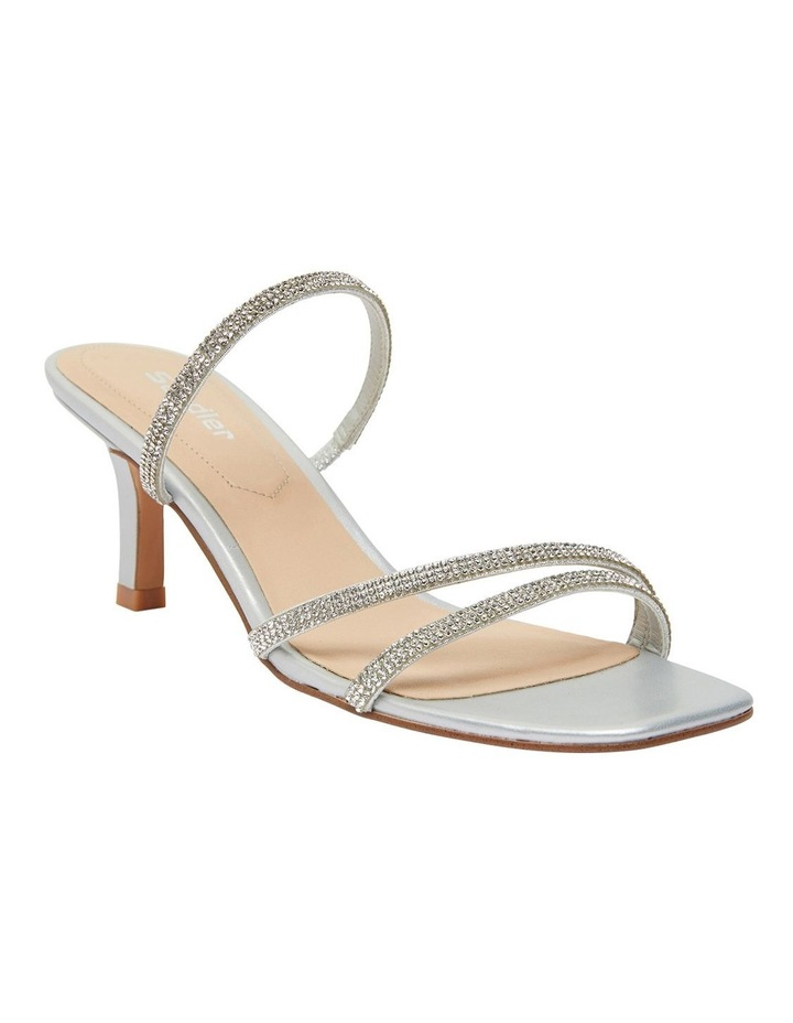 Marcy Silver Metallic Sandal image 2