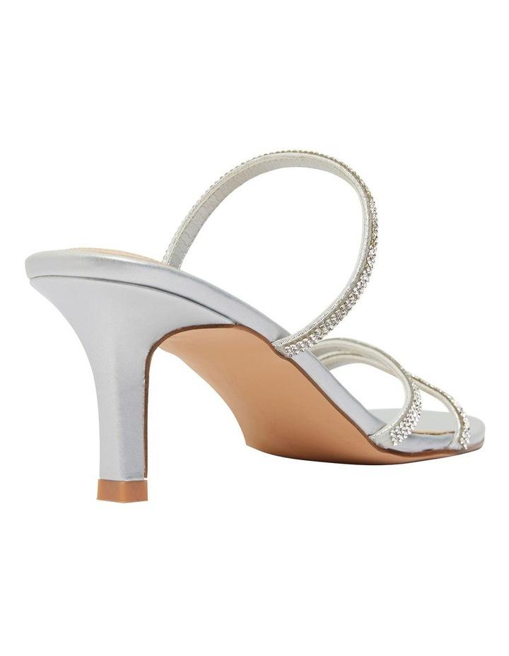 Marcy Silver Metallic Sandal image 4