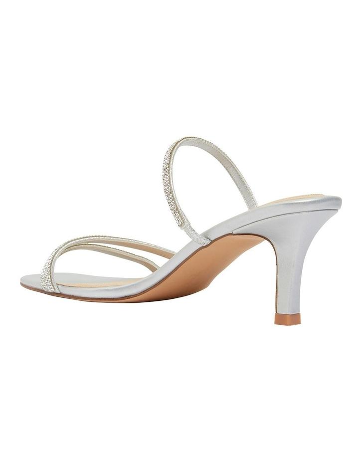 Marcy Silver Metallic Sandal image 7
