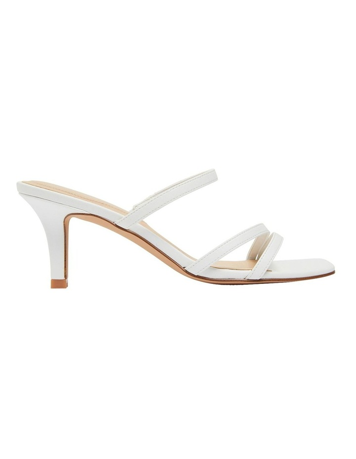 Marilyn White Smooth Sandal image 1