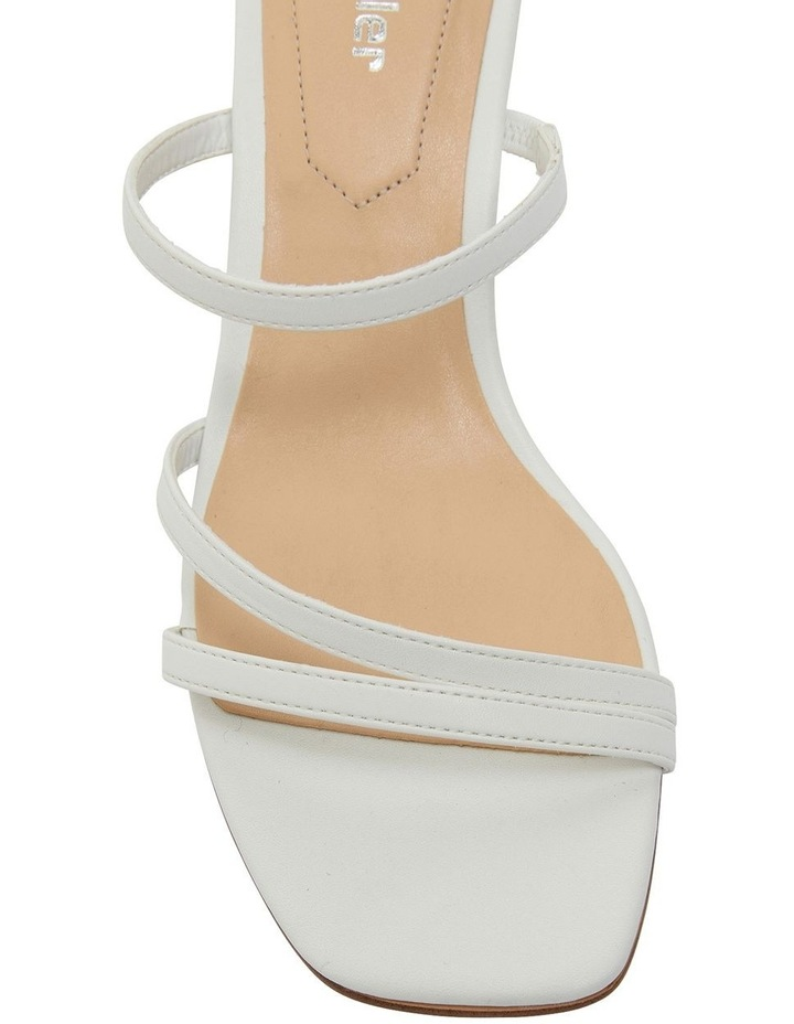Marilyn White Smooth Sandal image 6