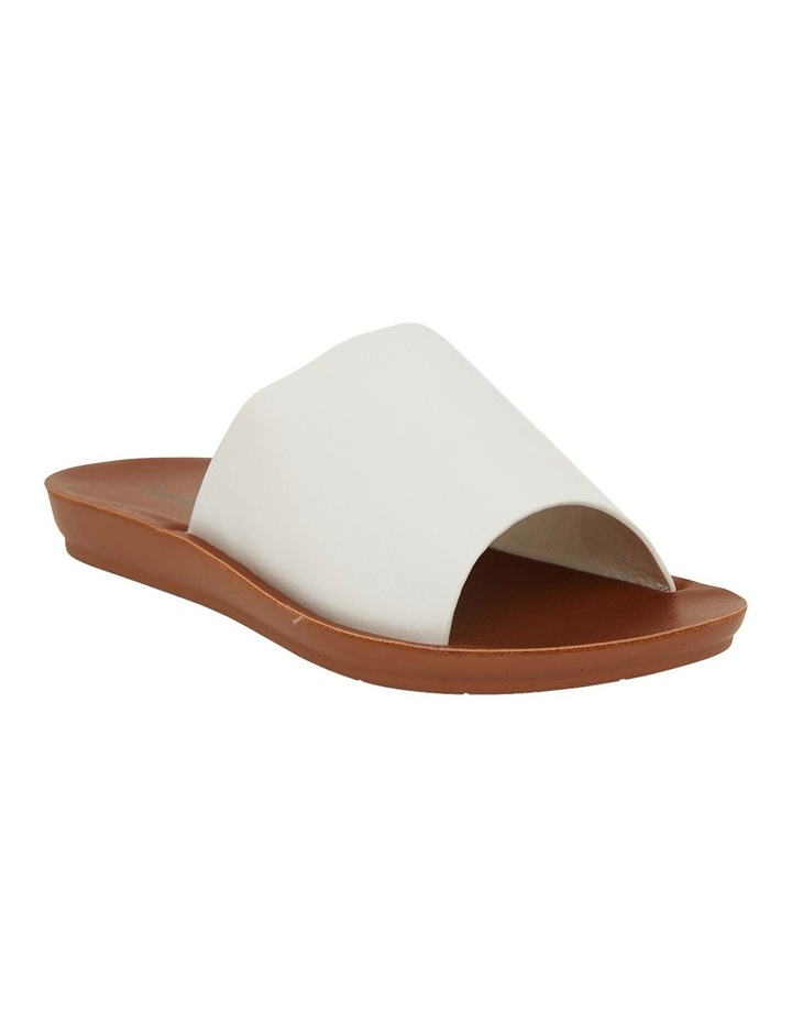 Glow White Smooth Sandals image 2