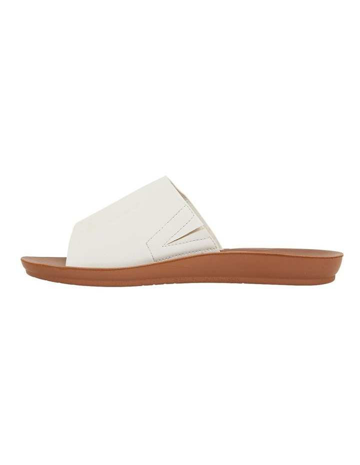 Glow White Smooth Sandals image 3