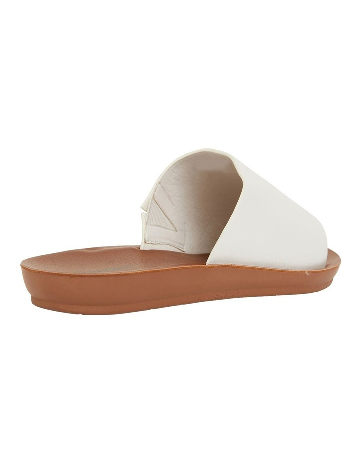 Glow White Smooth Sandals image 4