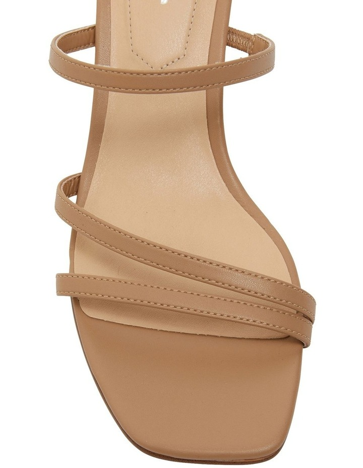 Marilyn Camel Smooth Sandal image 6