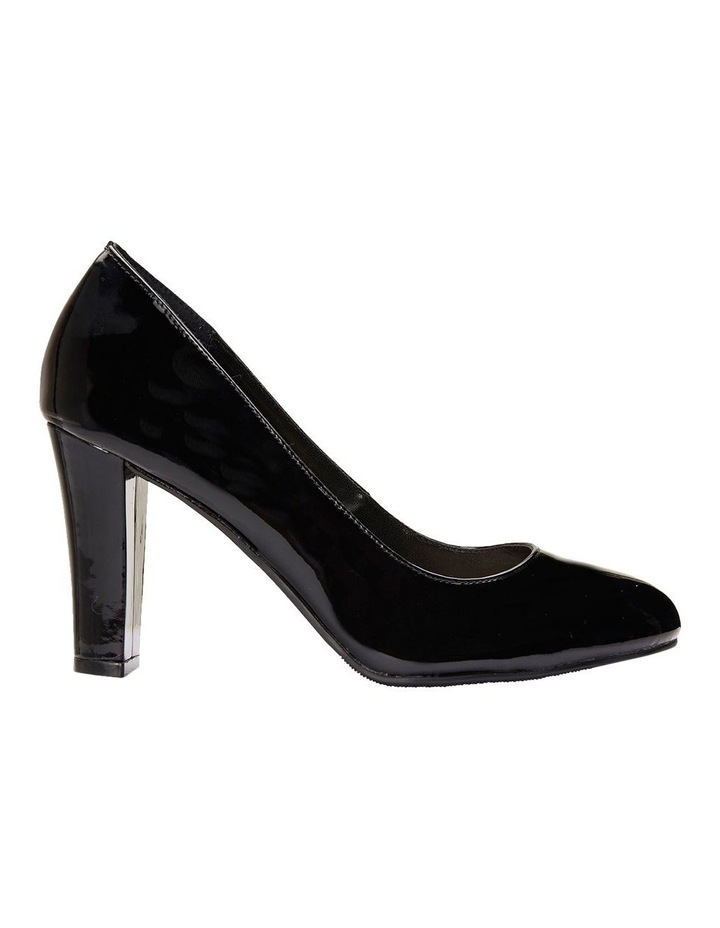 Alibi Black Patent Heeled Shoes image 1
