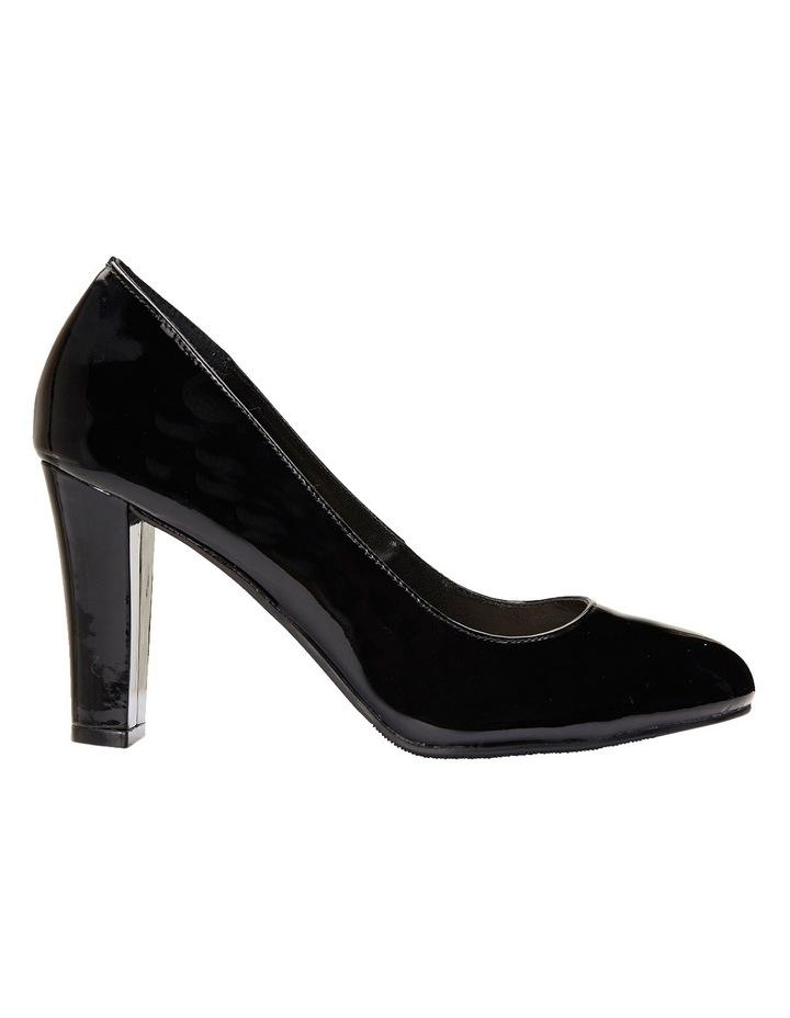 Alibi Black Patent Heeled Shoes image 2