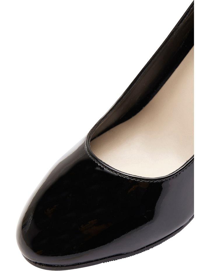 Alibi Black Patent Heeled Shoes image 8