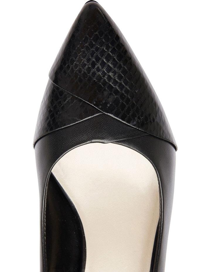 Newport Black Snake Print / Kid Heeled Shoes image 8