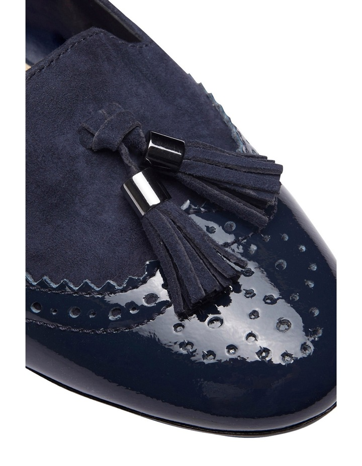 Trudy Navy Patent/Suede Loafer image 3