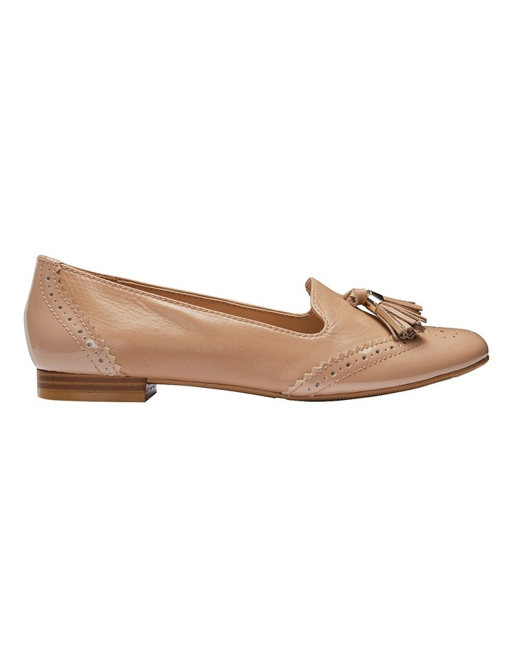 Trudy Nude Patent/Glove Loafer image 1