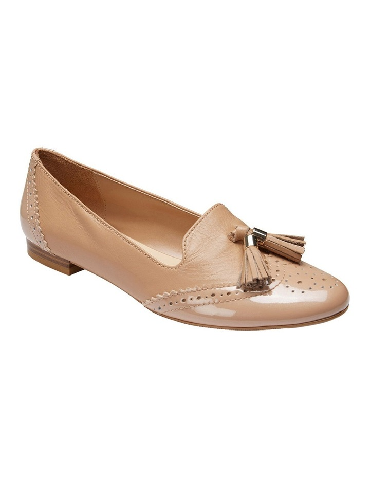 Trudy Nude Patent/Glove Loafer image 2