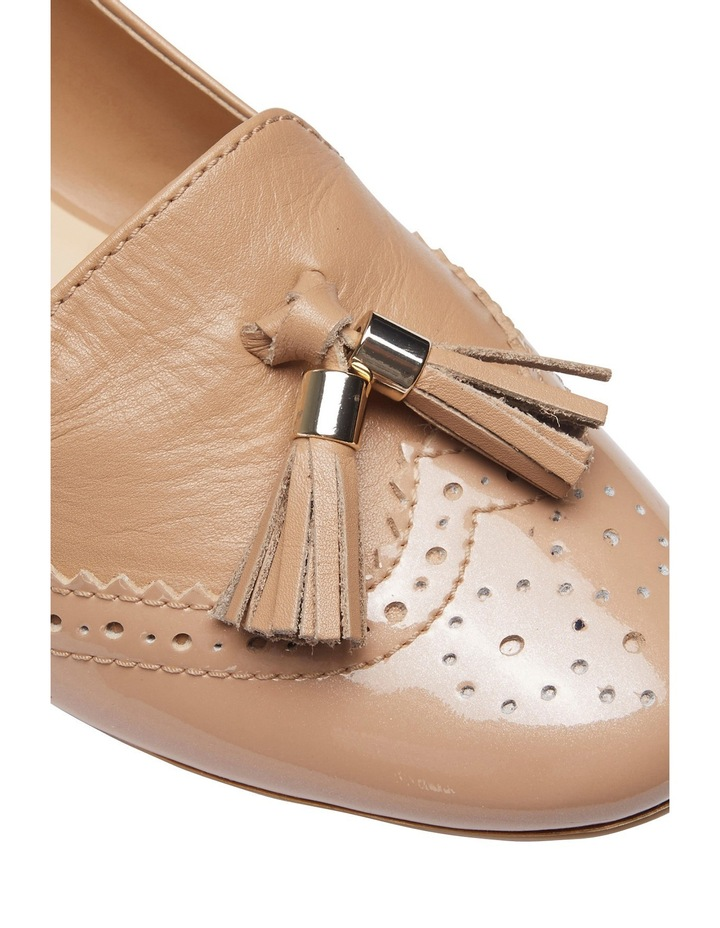 Trudy Nude Patent/Glove Loafer image 3