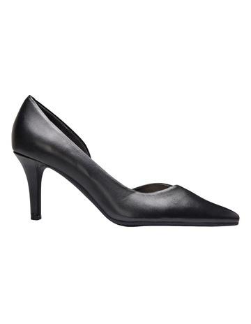 cf2f358b3473 Sandler Mikado Black Glove Heeled Shoes