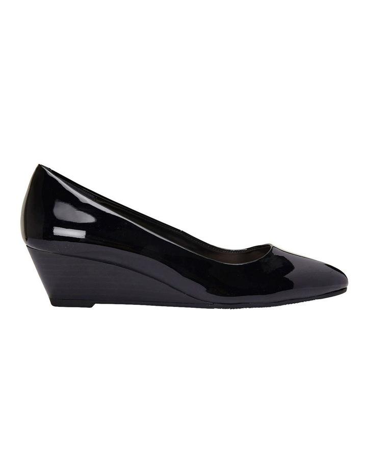 Henry Black Patent Heeled Shoes image 1