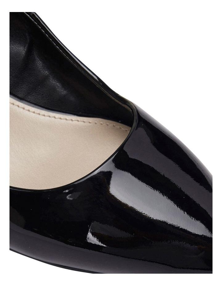 Henry Black Patent Heeled Shoes image 7