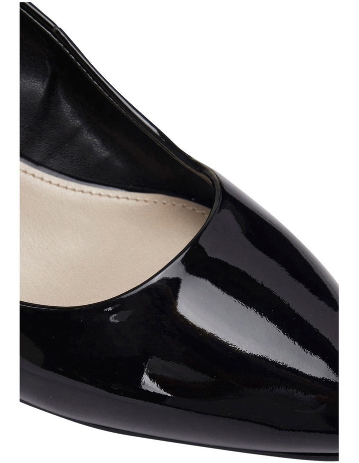 Henry Black Patent Heeled Shoes image 6