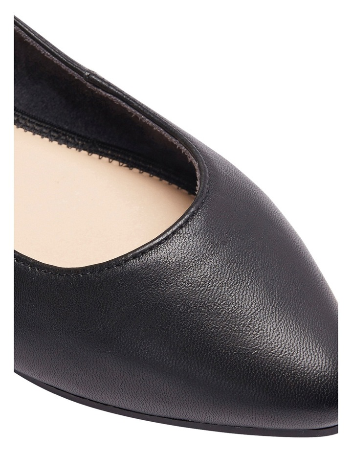 Lucia Black Glove Flat Shoes image 14