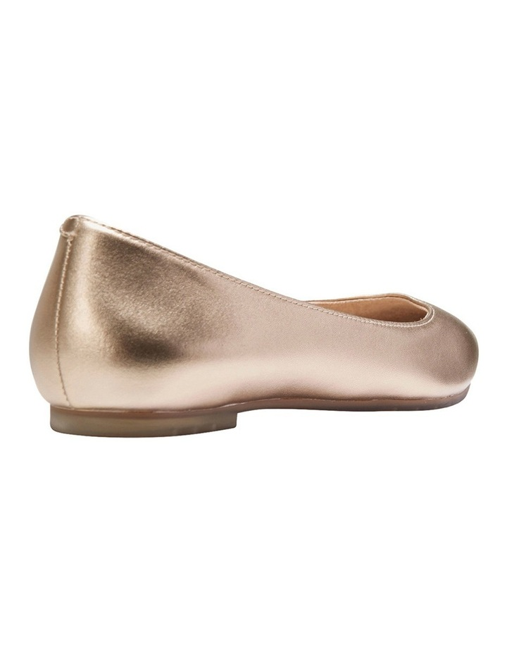 Lucia Gold Metalic Flat Shoes image 7