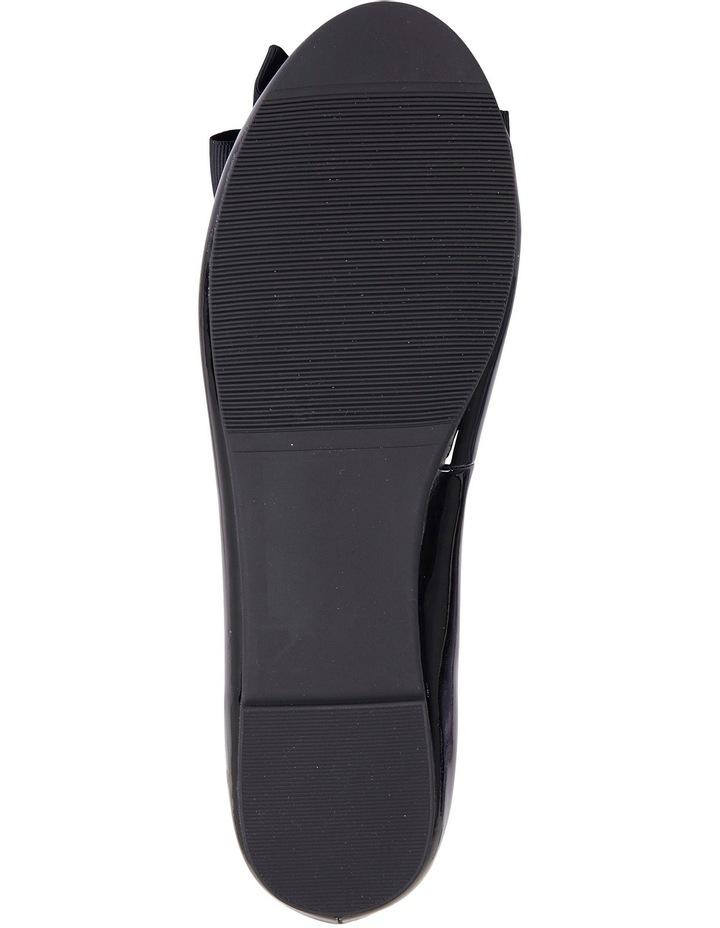 Gem Black Patent Flat Shoes image 6
