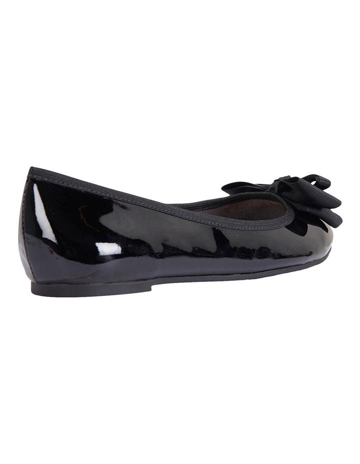 Gem Black Patent Flat Shoes image 8