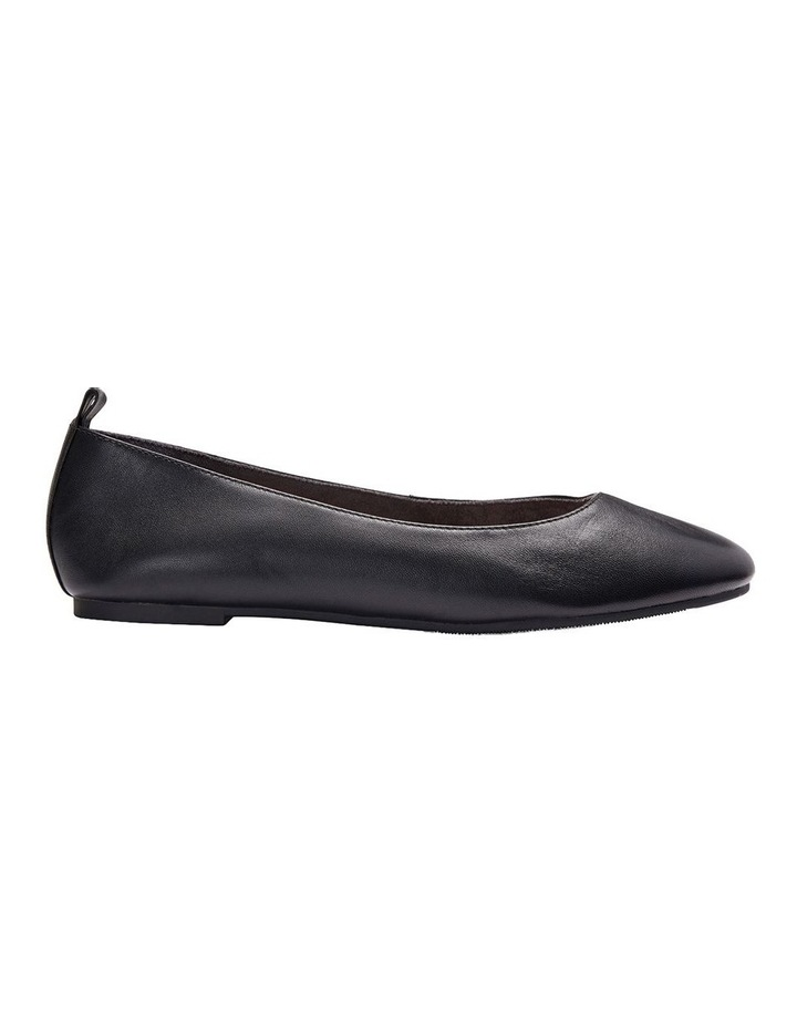 Gaze Black Glove Flat Shoes image 1