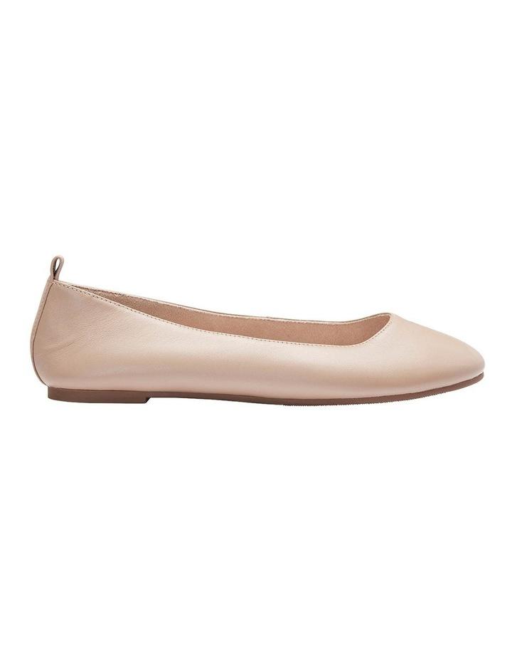 Gaze Nude Glove Flat Shoes image 1