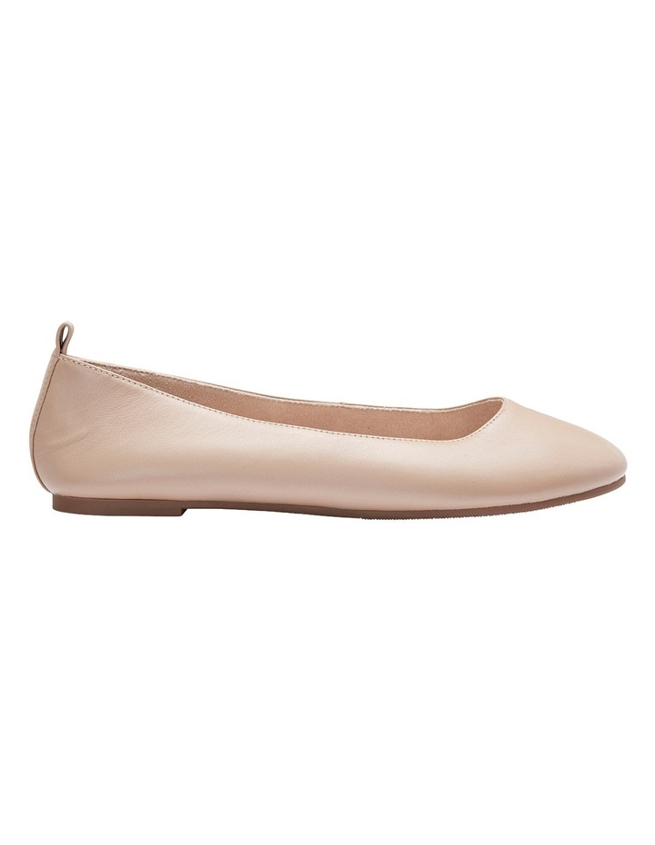 Gaze Nude Glove Flat Shoes image 2