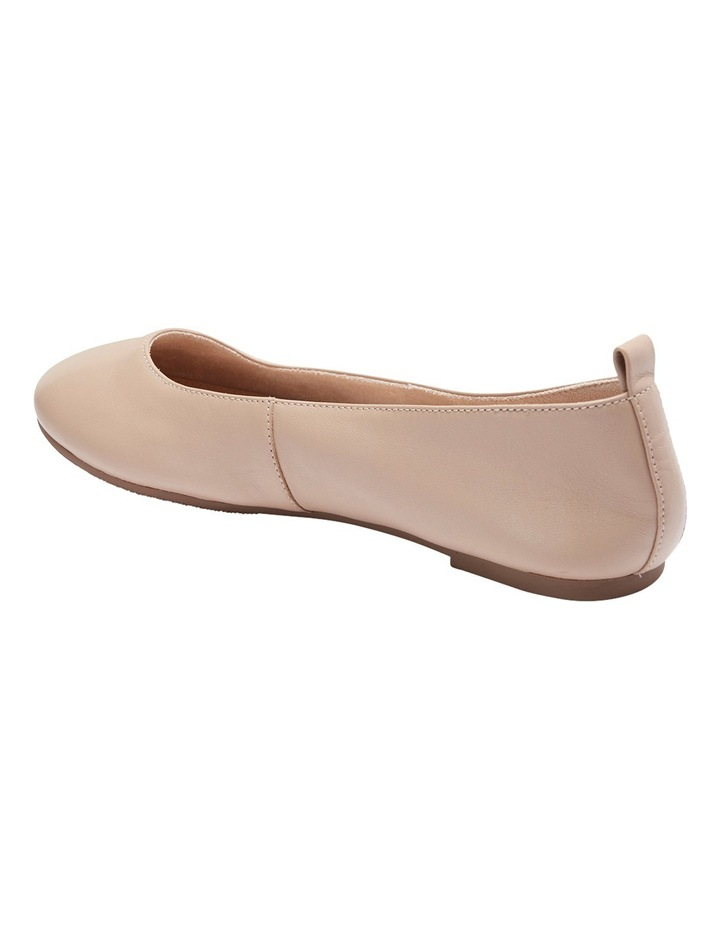 Gaze Nude Glove Flat Shoes image 6