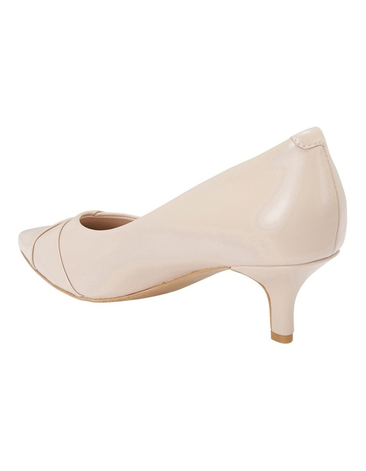 Newport Nude Snake/Glove Heeled Shoes image 3
