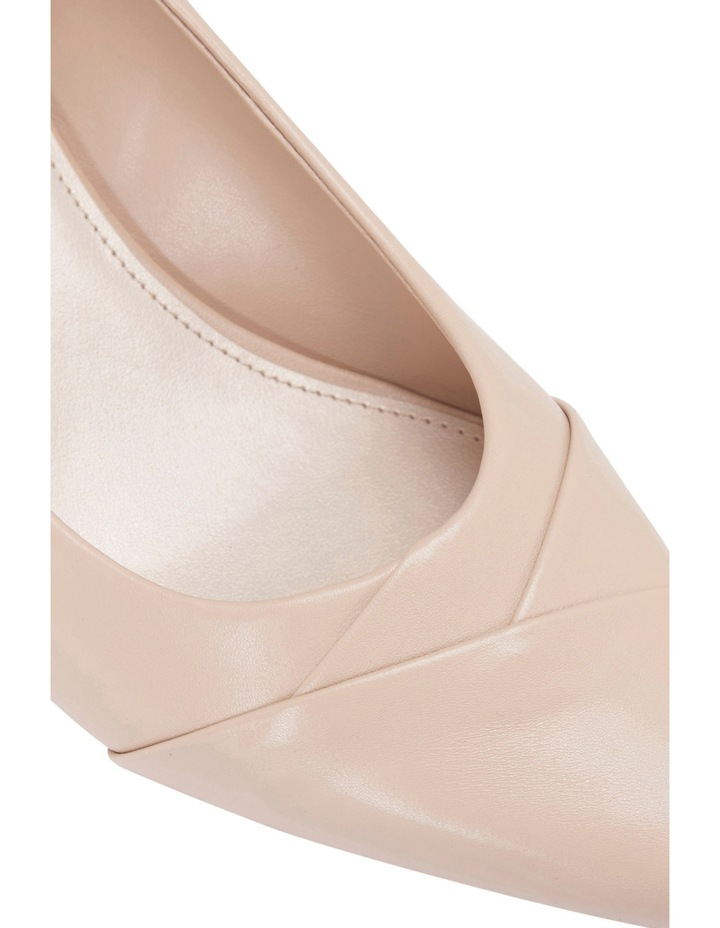 Newport Nude Snake/Glove Heeled Shoes image 4