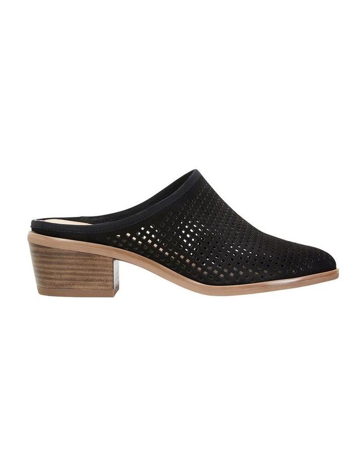 Mystic Black Nubuck Heeled Shoes image 1