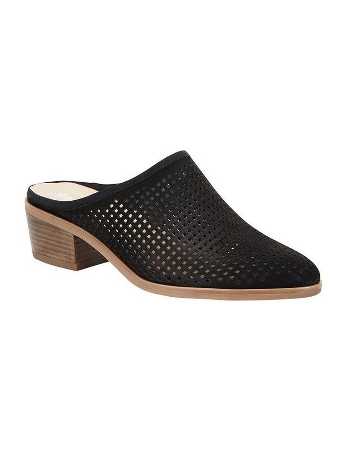 Mystic Black Nubuck Heeled Shoes image 2