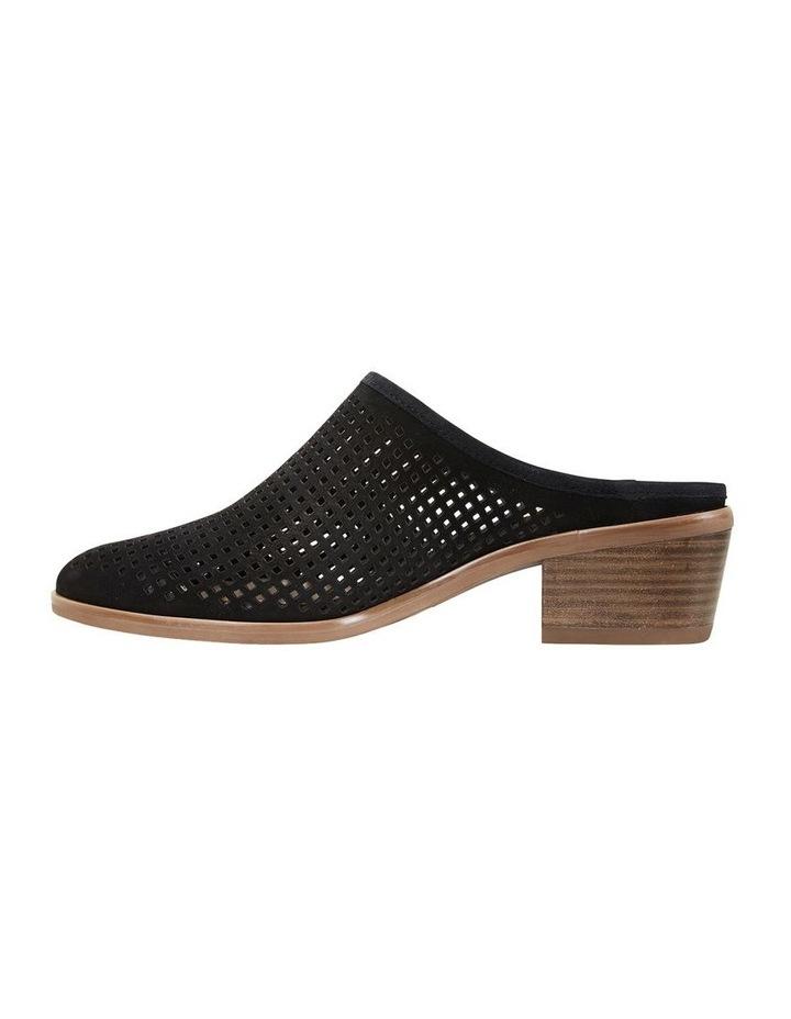 Mystic Black Nubuck Heeled Shoes image 3