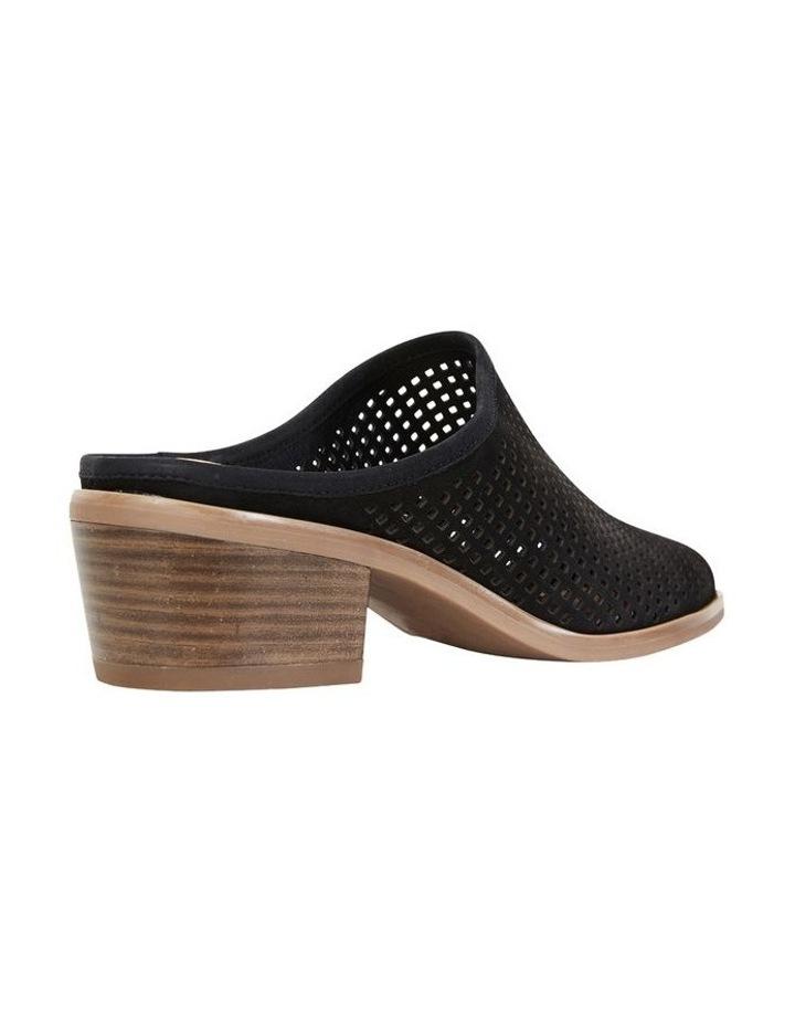 Mystic Black Nubuck Heeled Shoes image 4