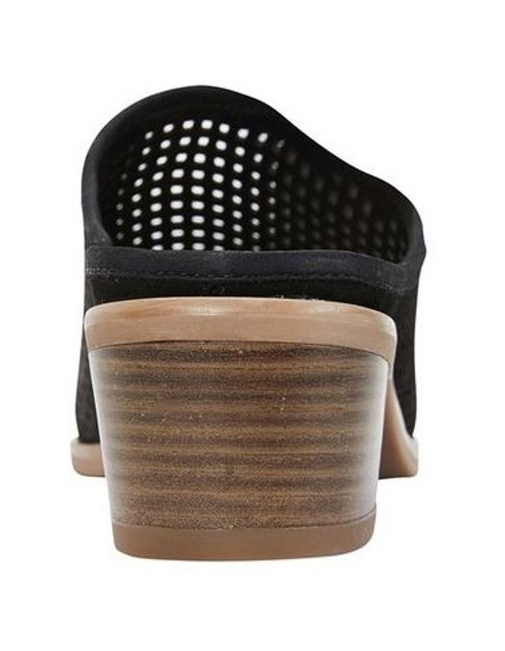 Mystic Black Nubuck Heeled Shoes image 5