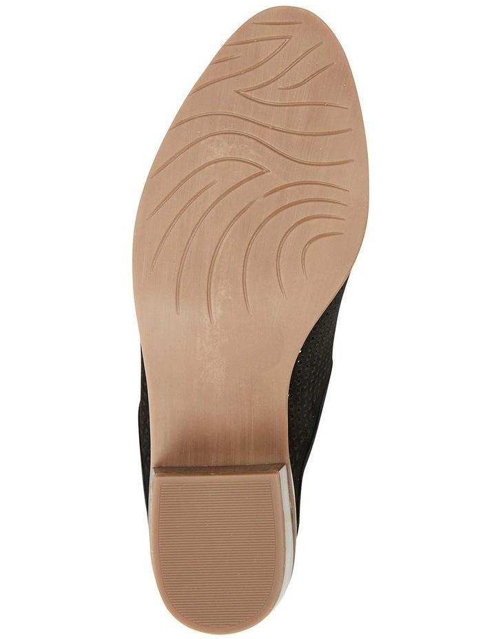 Mystic Black Nubuck Heeled Shoes image 6